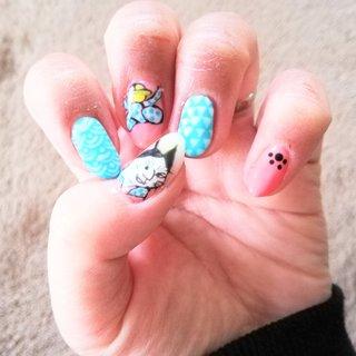 ネイルチェンジ。 安定な手荒れ。 浮世絵風猫ネイル。 和柄も色々なデザインがありますね。 今回は何のアイデアも浮かばず…時間かかりました😅 マット仕上げです。 爪が割れてたので、応急処置でティーパックの袋を切って爪に貼ってからジェルネイルで重ねて強度をつけてます。 ちなみに鈴が描かれている爪です。 Nekoil-nail #ジェルネイル #自爪 #セルフネイル #浮世絵風 #猫 #浮世絵 #人間みたい #和柄 #マットネイル #安定の手荒れ #オールシーズン #ハンド #キャラクター #和 #ミディアム #ピンク #イエロー #水色 #ジェル #セルフネイル #Nekoil-nail #ネイルブック