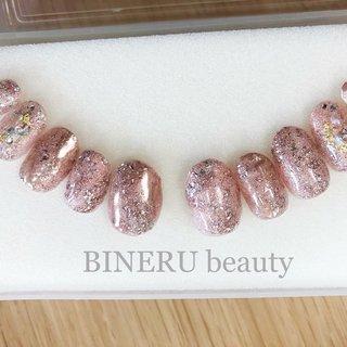 ブライダルネイルチップ💕オーダーありがとうございました😊 #BINERU beauty #ネイルブック