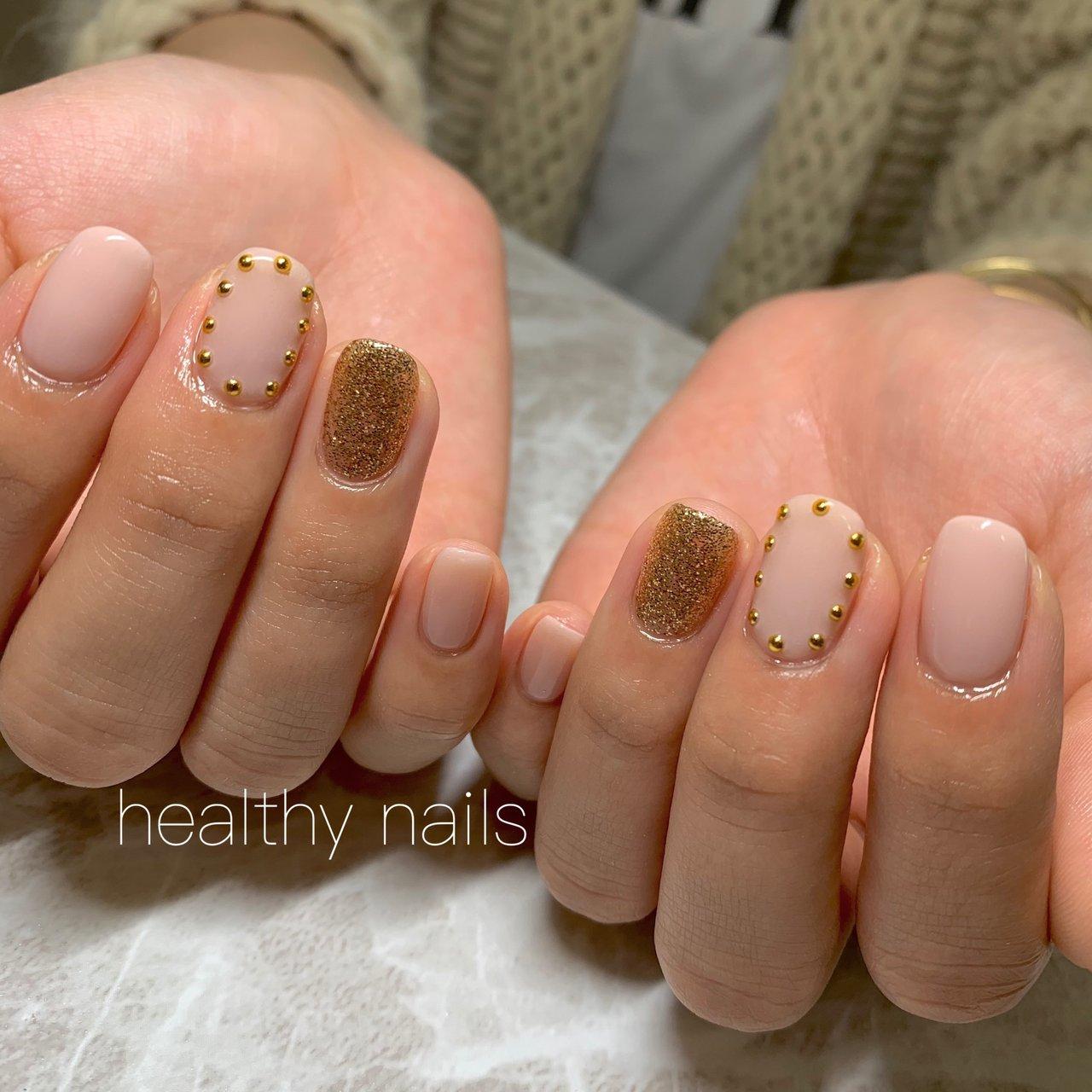 #オールシーズン #ハンド #healthy nails #ネイルブック