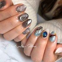 #Nail Fleur_Maki.Futsuki #ネイルブック