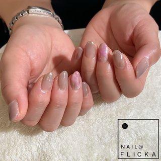 #nail FLICKA sapporo #ネイルブック