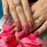 #ハンド #ピンク#ワンカラー#オフィスネイル #春 #オールシーズン #オフィス #ハンド #ワンカラー #ピンク #ジェル #お客様 #macho #ネイルブック