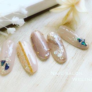 5月新作 大人上品デザインSET¥8700(平日限定¥7700) シェルニュアンスネイル♡  #nail#nailart#naildesign#gelnail#nailstagram#instanails#fashion#fashionnails#nailsalon#nailsalonwelina#japan#ネイル#ネイルデザイン#船橋#千葉#ネイルサロンウェリナ#シンプルネイル#ニュアンスネイル #オールシーズン #ハンド #ニュアンス #ジェル #welina_funabasi #ネイルブック