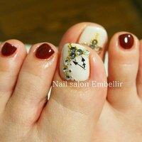 #高松ネイルサロン #夏ネイル #個性派ネイル #nailsalonembellir #フットネイル #Nail salon Embellir #ネイルブック