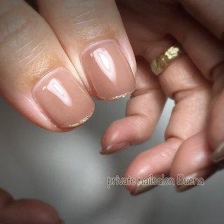 ✧ #ワンカラー に #先端ラメライン ⋆*❁*⋆.。* ✧ ※サロンは現在休業中です (休業前に撮り溜めた写真をアップしてます) ✧ #nail #nails #instanail #instanails #lovenails #cutenails #gelnails #gelnail #nailsdesign #nailfashion #ネイル #ネイルデザイン #ネイルスタグラム #ネイルアート #ジェルネイル #インスタネイル #💅 #大人ネイル #埼玉ネイル #上尾ネイル #上尾ネイルサロン #春ネイル #冬ネイル #美甲 #凝胶钉 #젤네일 #private nailsalon Buena #ネイルブック