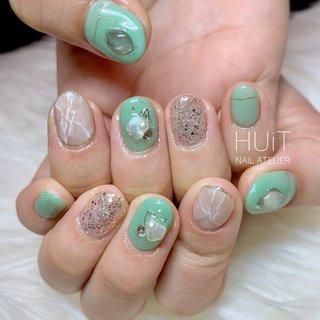 .  ✧ pistachio color × white marble ✧ . . ありがとうございました♡*。゚ . . . プライベートネイルサロン ∞ HUiT ∞ . . #nail #nails #gel #gelnails #nailart #naildesign #nailsalon #nailstagram #instanails #ネイル #ジェルネイル #ネイルデザイン #大人可愛いネイル #夏ネイル #huit #ユイット #huit_nail_atelier #北九州 #北九州ネイルサロン #八幡西区ネイルサロン #福岡 #福岡ネイルサロン #美甲設計 #네일 #ピスタチオネイル #ニュアンスネイル #ラメネイル #シェルネイル #大理石ネイル #お洒落ネイル #∞ - HUiT - nail atelier ∞ #ネイルブック