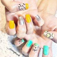 smile × leopard × french × mirror × neon color  #💅#😃#🐆#☺︎#nails#gelnail #naildesign #designnail#smilenail #smilemark#smilemasknail#leopardnails #frenchnails #partynails #neoncolornails #nailie#ネイル #ネイルデザイン #デザインネイル#ジェルネイル #スマイルマーク#スマイルマークネイル#フレンチネイル#ネオンカラーネイル#パーティネイル #派手ネイル#湘南ネイル #藤沢ネイル #江ノ島ネイル#ネイリー #オールシーズン #海 #リゾート #パーティー #ハンド #フレンチ #アニマル柄 #トロピカル #ミラー #レオパード #ミディアム #オレンジ #メタリック #ネオンカラー #ジェル #お客様 #jamspark #ネイルブック