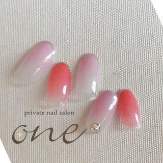#春 #夏 #オールシーズン #ピンク #パープル #private nail salon one #ネイルブック