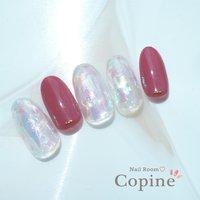 #nail room copine #ネイルブック
