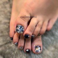 #フットネイル #福岡ネイル #nailsnaomi_ #nails #nailstagram #footnail #nailsnaomi_ #ネイルブック