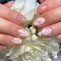 #春 #ブライダル #デート #女子会 #ピンク #maco♡Breath_nail #ネイルブック