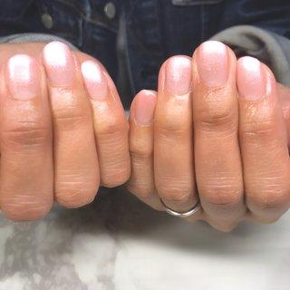 #オールシーズン #卒業式 #入学式 #オフィス #ハンド #ピンク #nail salon yuu(結) #ネイルブック