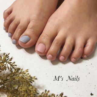 マットコート✨ワンカラーネイル♡  ご来店ありがとうございます( ¨̮ )︎❤︎ ・ ・ ・ ・ +……………………………………………………………......+ 〜M's Nails〜 プライベートサロン💅 @msnails1016  ご予約・お問い合わせ♡ 🎀LINE ID・・@fbj1732b 📩メール・・msnails1016@gmail.com  皆様のご来店、お待ちしております(*´∀`)✨ +………………………………………………………………....+ #m'snails#エムズネイルズ#熊谷市#熊谷#熊谷ネイルサロン#熊谷市ネイルサロン#自宅サロン#完全個室#お子様連れ大歓迎#ネイルケア#ケア重視#爪に優しいジェル#オフ無料#ご新規様大歓迎#定額制ネイル#フリーオーダー#お持ち込みデザインok#低価格#nail#ジェルネイル#2019#リーフジェル#agehagel#リッカジェル#ニュアンスネイル#nuancenail#nuance#春ネイル2020#ネイルデザイン2020#最新デザイン#マットネイル #オールシーズン #フット #シンプル #ワンカラー #ピンク #ブルー #ジェル #お客様 #M's Nails〜private nail salon〜 #ネイルブック