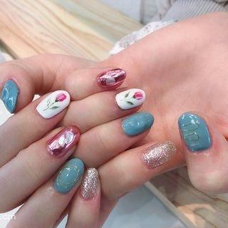 #筑西市ネイルサロン #ネイルピオニー #ネイルデザイン #ワイヤーネイル #nail_peony #ネイルブック