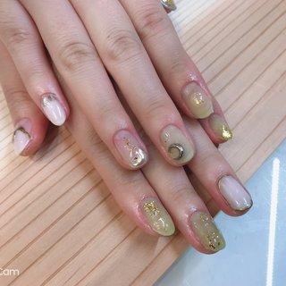 #筑西市ネイルサロン #ネイルピオニー #ネイルデザイン #ニュアンス #nail_peony #ネイルブック
