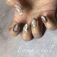 #オールシーズン #ハンド #ニュアンス #ジェル #Emma's nail *エマズネイル* #ネイルブック