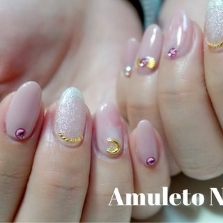 #もちこみデザイン #Amuleto NaiL #ネイルブック