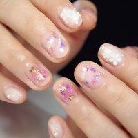 #ハンド #ジェル #お客様 #muguet nails #ネイルブック
