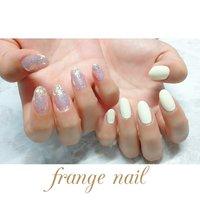 #frange nail #ネイルブック