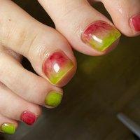 ニュアンスフット❤️ クリアカラーで絶妙な可愛いさ💕  #nail#nails #フットネイル #ニュアンスネイル #春 #夏 #旅行 #リゾート #フット #ニュアンス #ジェル #伊藤蘭 #ネイルブック
