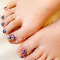 . フットネイルの季節が始まりました♡ カラフルシェルストーン🐚💓 . . . #nails#springnails#onecolornails#simplenails#summernails#officenails#footnails#shellnails#colorfulnails#ネイル#大人ネイル#大人可愛いネイル#上品ネイル#可愛いネイル#春ネイル#オフィスネイル#ワンカラーネイル#シンプルネイル#フットネイル夏フットネイル#シェルネイル#シェルストーン#シェルストーンネイル#鹿児島#鹿屋#都城#日南#串間#志布志#志布志ネイル#志布志milimili #夏 #海 #リゾート #浴衣 #フット #シンプル #ラメ #ワンカラー #シェル #ピンク #イエロー #ブルー #ジェル #milimili #ネイルブック