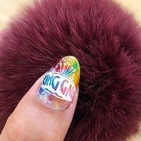 King Gnuにどハマり中♥️♥️♥️30日までLIVE動画見れるからみてみてね✨ #King Gnu #King Gnuネイル #飛行艇 #Flash!!! #白日 #The hole #BINERU beauty #ネイルブック