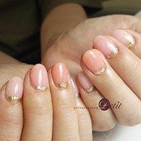 いつもありがとうございます♡  #フレンチネイル #ラメフレンチ #3色ピンク #かわいいデザイン #女子力あっぷー💕 #ハンド #お客様 #privatesalonプティ♡akane.(石川県内灘町) #ネイルブック