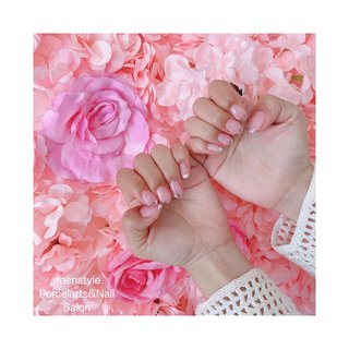 #夏 #オールシーズン #パーティー #ミラー #ピンク #シルバー #enenstyle Porcelarts&Nail Salon #ネイルブック