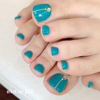この時期はシンプルなデザインでさりげなく♡  ターコイズブルーが綺麗!  #nail #nails #naildesign #nailsalon #jelnail #japan #instanail #fashion #nailart #summernails #springnails #ネイル #ネイリスト #ネイルデザイン #ネイルサロン #ジェルネイル #夏ネイル #春ネイル #ネセパネイル #さいたま市ネイルサロン #東浦和ネイルサロン #さいたま市ネイルスクール #東浦和ネイルスクール #フットネイル #夏 #オールシーズン #フット #シンプル #ビジュー #ターコイズ #ジェル #ネセパネイル salon&school #ネイルブック