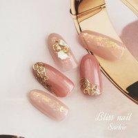 #サンプルデザイン #Bliss☆Sachi #ネイルブック