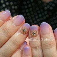 #夏ネイル #シンプルネイル #オフィスネイル #高松ネイルサロン #nailsalonembellir #Nail salon Embellir #ネイルブック