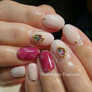 定額6050円 #高松ネイルサロン #春ネイル #ニュアンスネイル #夏ネイル #nailsalonembellir #Nail salon Embellir #ネイルブック