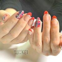 #オールシーズン #ジェル #ネイルアート #パラジェル #nails #川崎ネイルサロン #高津区ネイルサロン #keibiyousitu #ネイルブック
