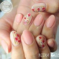 本日のお客様ネイル♡5/29 ピンク&ベージュにシェル×フラワー×ラメ♪ #gel #gelnail #gelart #nail #nails #naildesign #nailart #nailartist #nailbook #dryflowernails #flowernails #pinknails #シアーピンクネイル #押し花ネイル #フラワーネイル #シェルネイル #格安ネイル #夏ネイル #ジェルネイル #美甲 #niika_nail #板橋区中台 #志村三丁目 #ツヤツヤ #キラキラ #可愛い #シンプル #春 #夏 #デート #女子会 #ハンド #ラメ #フラワー #シェル #ミディアム #ベージュ #ピンク #ジェル #お客様 #Sa7e_Kurihara #ネイルブック