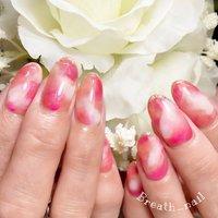 #ピンク #お客様 #maco♡Breath_nail #ネイルブック