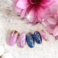 最近ブルーのカラーが気になるので、 大好きなピンクと合うようなネイルを 考えて作ったサンプルです💗 No.28 ブルー&ピンク #yoko nail #佐倉市ヨウコネイル #ユーカリが丘ヨウコネイル #お客様のキラキラ輝く笑顔の為に💗 #ネイルサロン衛生管理士 #ブルー&ピンク #夏 #旅行 #海 #リゾート #クリア #ピンク #ブルー #Yoko Nail #ネイルブック