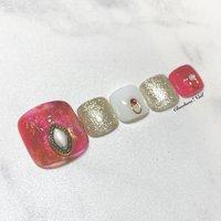 フットにゅーサンプル♡ . キラキラ×シースルーレッド♡ . #nails #naildesign #nailart #color #instagood #footnail #summer #art #see-through #chaehwanail #ネイル#ネイルデザイン #フットネイル #夏ネイル #シースルー #オーロラ #ムラ塗り #大人可愛い #カラー #ジェルネイル #川崎ネイルサロン #川崎 #ペディキュア #네일#네일아트#네일스타그램 #젤네일 #여름 #발스타그램 #美甲 . . . ご予約は↓からお願いします! *ネイルブックネット予約(プロフィールのURLから予約可能!) . お問い合わせは↓からお願いします! *LINE@ : @chaehwa_nail(@から検索) *Instagram DM : @chaehwa_nail . ご連絡お待ちしております(*´꒳`*)♪ Chaehwa*Nail #夏 #オールシーズン #海 #リゾート #フット #ホログラム #ラメ #シースルー #ニュアンス #マーブル #ミディアム #ホワイト #レッド #ゴールド #ジェル #ネイルチップ #chaehwa_8127 #ネイルブック