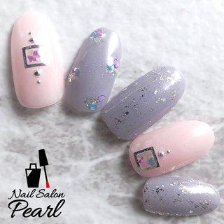 サンプルデザイン・定額M   シェルを沢山取り入れた、 ふんわりパープル&ピンクのネイル 女子〜キレイ目デザイン    ご新規様受付再開致しました。 来店時次回予約でオフ代無料。 リピーター様6月20日までフットジェル30%オフ。    #広島ネイル#広島ネイルサロン#広島ネイルサロンパール#NailSalonPearl#ネイルサロンパール#パールネイル#パラジェル#パラジェル広島#大人ネイル#大人ネイルサロン#上品ネイル#夏ネイル#夏ネイルデザイン#夏ネイルデザイン2020#梅雨ネイル#紫陽花ネイル#シェルネイル#オフィスネイル# #梅雨 #オフィス #パーティー #女子会 #ハンド #ラメ #ワンカラー #シェル #ミディアム #ピンク #パープル #ジェル #ネイルチップ #広島ネイルサロンパール【パラジェル取扱店】 #ネイルブック