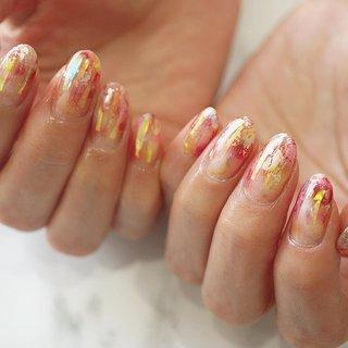 #グラデーション #シアーカラーネイル #オーロラ#夏ネイル #リゾート #ange nail salon #ネイルブック