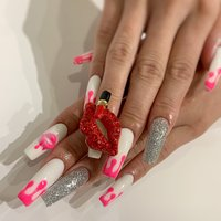 #スカルプチュア #Tiara nail #ネイルブック