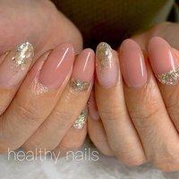 #オールシーズン #オフィス #ブライダル #ハンド #healthy nails #ネイルブック