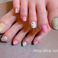 #aling_aling_nail #ネイルブック