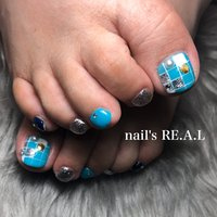 #nail's RE.A.L 茅原 美奈 #ネイルブック