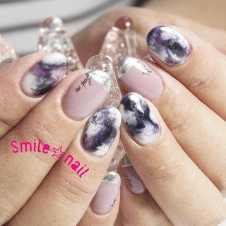 大田原定額ネイルサロン Smile☆nailのyukariです(*^^*) @nailazurl_ayako AYAKO先生のデザイン💎 モヤっと感が最高です✨ 一番お気に入りのパープルで作りました💜 ご来店ありがとうございます😊  またおまちしてますね♪ ☆,。・:*:・゚'☆,。・:*:・゚'☆,。・:*:・゚' ご予約は#ネイルブック 又は プロフィールのURLから☆ 是非【Nail book】アプリをご利用下さい❤️ ☆,。・:*:・゚'☆,。・:*:・゚'☆,。・:*:・゚' ラクマでピアス ミンネでネイルチップを販売してます ٩( ᐛ )و  ネイルチップ→ミンネ https://minne.com/5116ykr (スマイルネイルで検索‼︎) ピアス→ラクマ https://fril.jp/shop/Smile_bijou (スマイルビジュー ネイリストで検索‼︎) ☆,。・:*:・゚'☆,。・:*:・゚'☆,。・:*:・゚' #smilenail #スマイルネイル #大田原市ネイルサロン #大田原市ネイル #大田原ネイルサロン #大田原ネイル #大田原定額ネイル #那須塩原ネイル #那須塩原ネイルサロン #ネイルサロン #西那須野ネイルサロン #お洒落ネイル #個性派ネイル #派手カワネイル #オーダーチップ #nailpicbeaut #美爪 #ミンネ #minne #nailbook #ネイリスト仲間募集 #ネイル好きな人と繋がりたい #コロナが終わったらやりたいネイル #マーブルネイル #天然石ネイル #ニュアンスネイル #メタリックフレンチ #パープルネイル #くすみカラーネイル #春 #夏 #デート #女子会 #ハンド #変形フレンチ #大理石 #ニュアンス #マーブル #ミディアム #ホワイト #パープル #メタリック #ジェル #お客様 #Smile☆nail #ネイルブック
