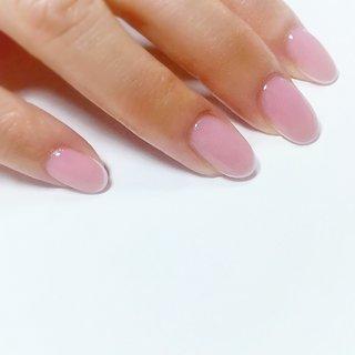 """. . . """"Skinny french nails...sweet pink bace"""" . #小岩ネイルサロン #フレンチネイル #スキニーフレンチネイル #上品ネイル #オフィスネイル #シンプルネイル #大人ネイル #caネイル #ネイル #きれいめファッション #きれいめネイル #Nailist maki #ネイルブック"""