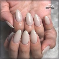 . ✴︎ sheer gray ✴︎ . used color ⁑ ミストグレー(clear)×1 . one color . #nailr∞m35 #ネイルブック