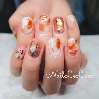 ┈┈┈┈┈┈┈ⓃⓊⒶⓃⒸⒺ . 今の人気は🍊オレンジ色。 . 向上心とかポジティブさが オレンジ色に秘められた パワーなんですって𓀠 . ┈┈┈┈┈┈┈┈┈┈.+*:゚ . . . .  #nailstylist #nailsaddict #nailsnailsnails #coolnailart #frenchnails #simplenails #beautyas #ikebukuro #privetesalon #nailleluce #marblenail #hagoromo #シンプルネイル #スタイリッシュネイル #シンプルなネイルが好き #池袋南口 #プライベートサロン #透け感ネイル #大人のネイルサロン #大人のネイルアート #オトナ女子ネイル #透けべっ甲 #くすみクリア感 #透明感カラー #透け感とくすみ感 #透明感たっぷりネイル #プルンネイル #ニュアンスネイル💅 #組み合わせいろいろできます #いつもありがとうございます #夏 #海 #浴衣 #シンプル #シェル #ニュアンス #クリア #オレンジ #m.hirano•*¨*☆*・゚〖NailLeLuce〗 #ネイルブック