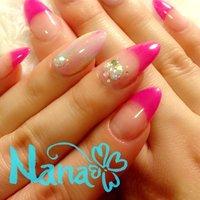 #Nailbook #ハンド #フレンチ #ピンク #Nana_Perth #ネイルブック