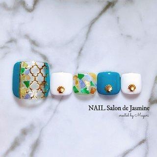 ʀᴇᴠɪᴇᴡ ♡ '¹⁹ EᗩᖇᒪƳ ᔕᑌᗰᗰEᖇ * #今日のネイル 💅🏻 * 《⚠️新型コロナウイルス等感染症 感染予防対策 実施中》 ◾️新潟市中央区古町通りのジェルネイル•ネイルケア•ハンド&フットケアサロン NAIL Salon de Jasmine|マニキュアリストMayuri♥#nailsalondejasmine * ◾️Contact me📞✉️ ♪ LINE|@yyk9265u ♪ ネイルブック(現金決済のみ)|nailbook.jp/nail-salon/20385/ ♪ email|nail.salon.de.jasmin@gmail.com * #新潟中央区市ネイルサロン#新潟市プライベートネイルサロン#古町ネイルサロン#新潟市中央区古町#上古町#カミフル #ネイルアート#オトナ女子御用達#大人女性ネイル #和室ネイルサロン#パラジェル取扱店#角質ケア#フット角質ケア#素足美人になろう#ハンドスパ#ハンドトリートメント #飛沫感染予防#スニーズガード設置店#飛沫感染予防アクリルボード#がんばろう新潟#伝染らない伝染さない #フットネイル#モロッカンネイル#梅雨ネイル #春 #夏 #梅雨 #海 #フット #シェル #エスニック #シースルー #マリン #ホワイト #ターコイズ #ゴールド #ジェル #ネイルチップ #Mayuri #ネイルブック