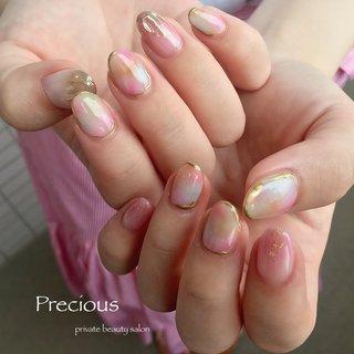 . . nuance⭐︎nails . . 色白のお客様に ぴったり(*´˘`*)♥ . . . Precious 048-915-5205 . #Precious#privatebeautysaron#越谷ネイルPrecious#定額制#ネイルサロン#越谷#新越谷Precious#ニュアンスネイル#nuance #初夏ネイル#抜け感ネイル#夏ニュアンスnails#koshigaya#saitama#nail#NAIL#cute#follow me#follow#japan nails #Precious 〜プレシャス〜 #ネイルブック